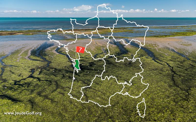 La route des golfs par les côtes. N°7 Nouvelle Aquitaine, Charente Maritime