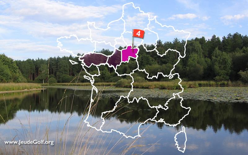 La route des golfs par les vignobles. N°4 Vallée de la Loire, Sologne