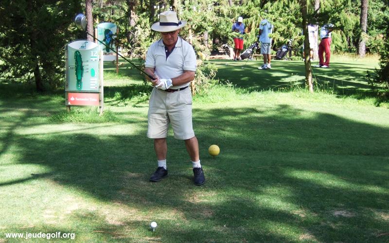 Premier départ d'un parcours de golf