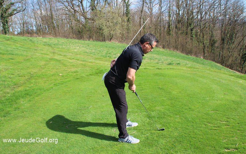 Caractéristiques de swings: Les différentes postures à l'adresse et leurs conséquences