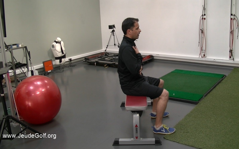 Prépa physique et golf : Améliorer sa posture