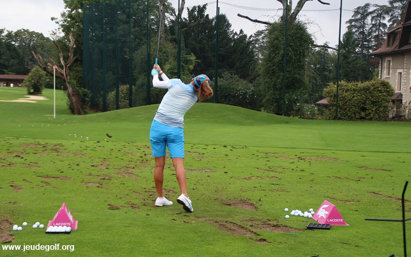 Le swing surpuissant de Lexi Thompson passe...par un muscle fessier tonique.