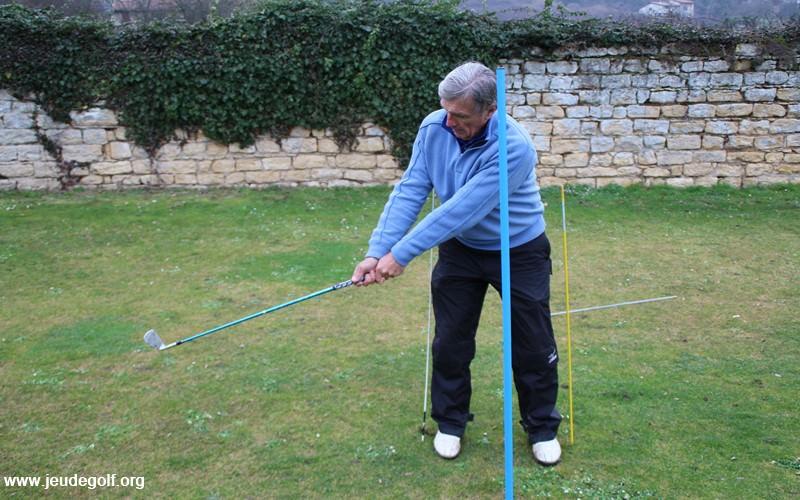 Golf en hiver: Exercice pour travailler la consistance de son swing
