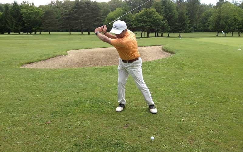 La clé d'un bon swing de golf : Une rotation de qualité!