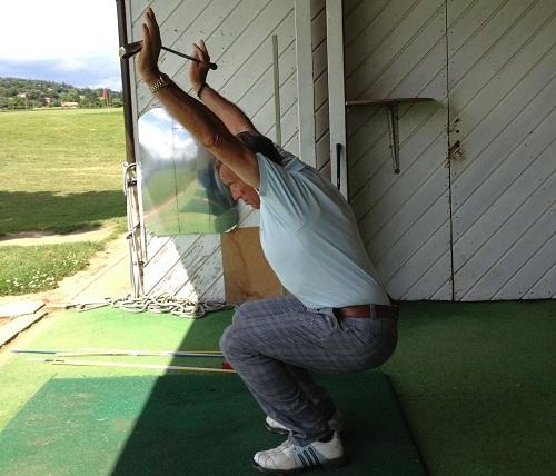 descendre en flexion complète