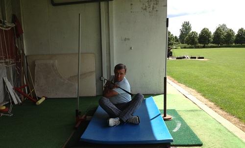rotation des épaules à 90°