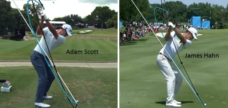 Adam Scott versus James Hahn