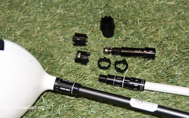 Connecteurs et orientation d'un shaft - l'avis d'un clubmaker
