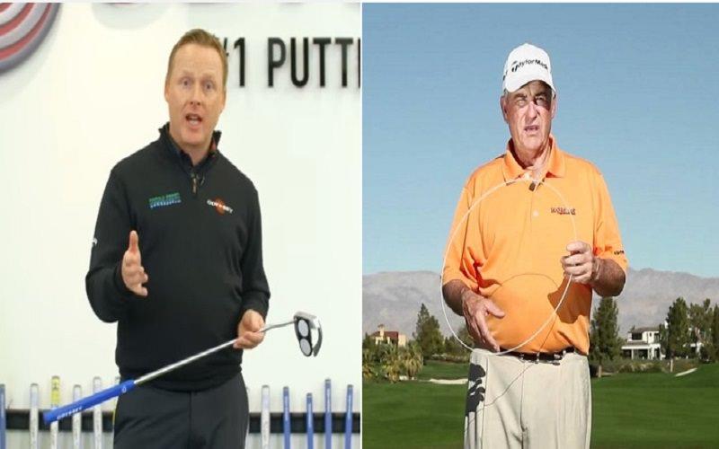 A gauche, Phil Kenyon et à droite, Dave Stockton
