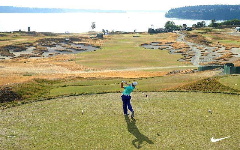 Rory McIlroy à Chambers Bay (US Open) @Crédit photo : Nike Golf