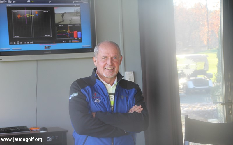 Jean-Jacques Rivet, spécialiste de la biomécanique pour le golf