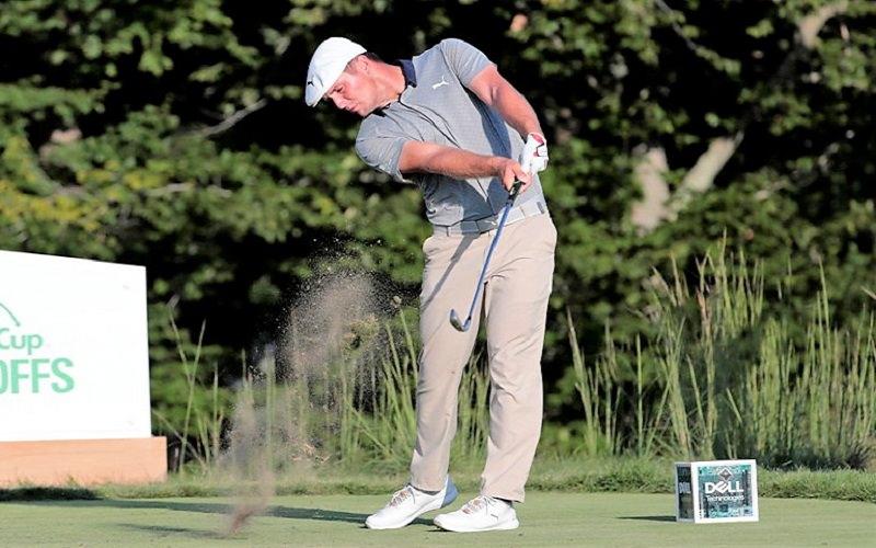 La séquence de swing de Bryson DeChambeau : Le scientifique ! - crédit photo : Fred Kfoury III/Icon Sportswire