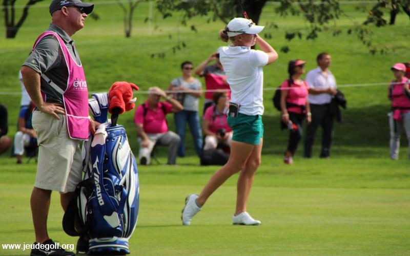 Son swing est même un modèle à démontrer dans toutes les bonnes écoles de golf.