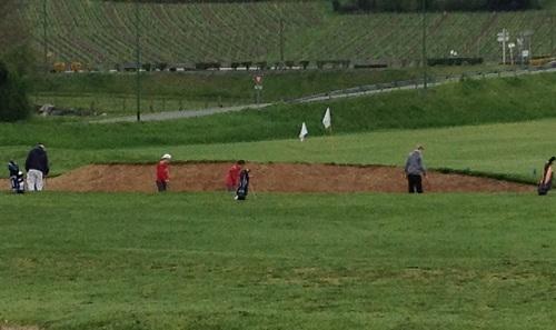 Travailler des parties spécifiques de votre jeu de golf