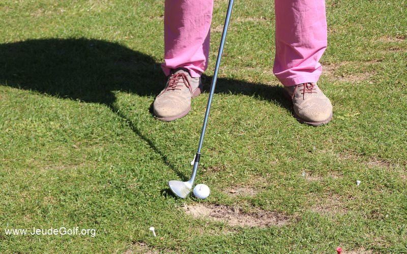 La qualité du point d'impact révélateur du swing