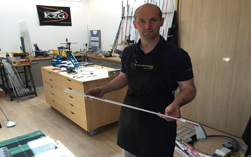 Préparation du fer 1 de Benjamin Hebert, golfeur pro sur le tour