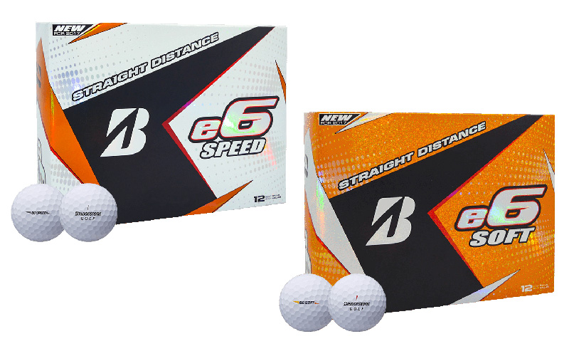 Balles de golf, Bridgestone e6 SOFT et e6 SPEED