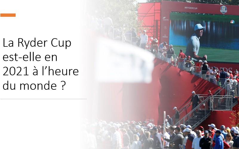 La foule autour des fairways de la Ryder Cup de golf