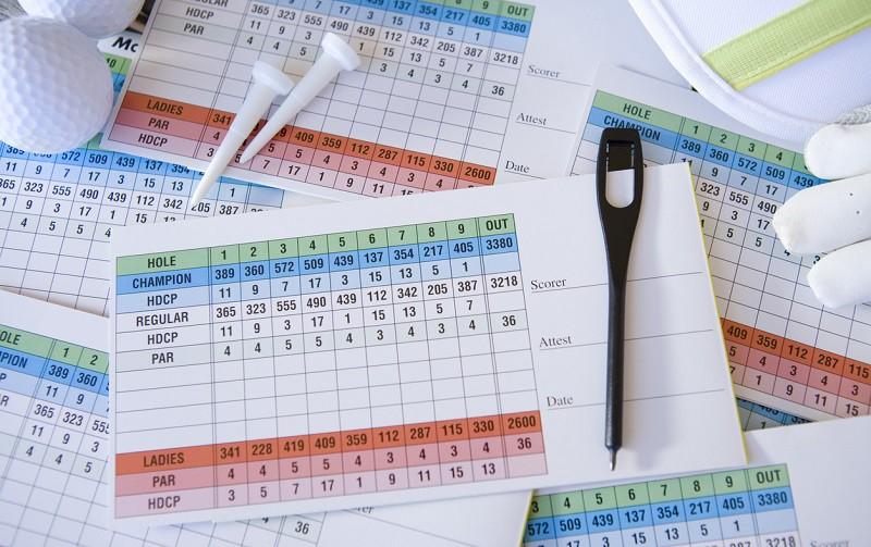 WHS, système de classement des golfeurs