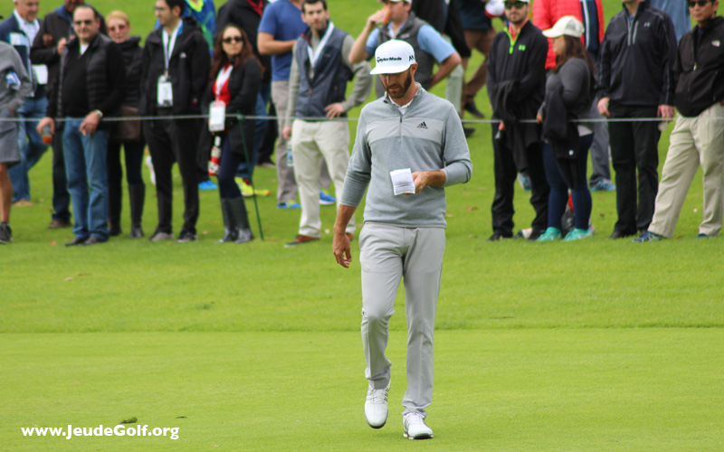 Dustin Johnson. Photo JeudeGolf.org