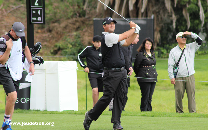 Patrick Reed. Photo JeudeGolf.org