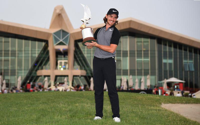 Tommy Fleetwood, Crédit Photo : Abu Dhabi HSBC Championship, Getty Images