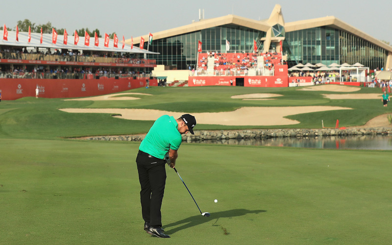 Tyrrell Hatton, Crédit Photo : Abu Dhabi HSBC Championship, Getty Images