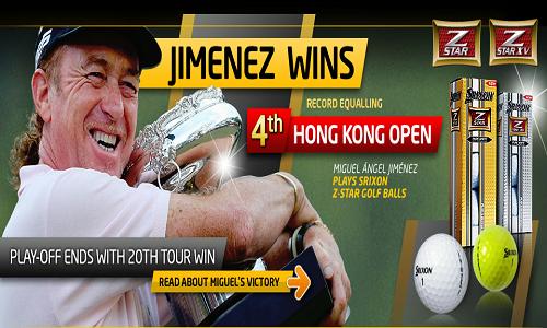 Miguel Angel Jimenez bat son propre record de longévité à Hong-Kong