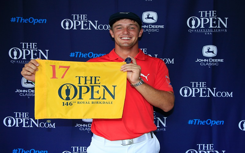 Bryson DeChambeau décroche son billet pour The Open 2017 !
