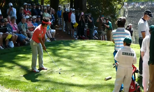 Masters Augusta 2013 : Le concours de Par-3 débute