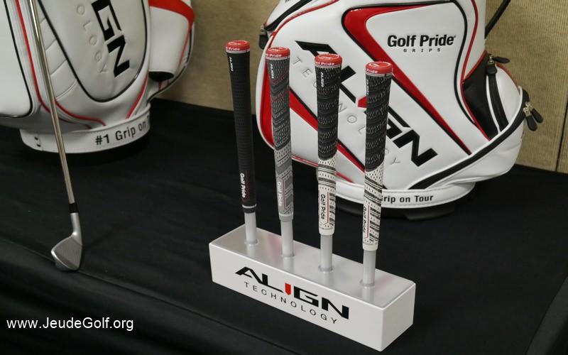 Golf Pride est une très belle entreprise de fabrication de grip.