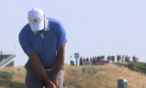 Tiger Woods en route pour la victoire à Muirfield ?