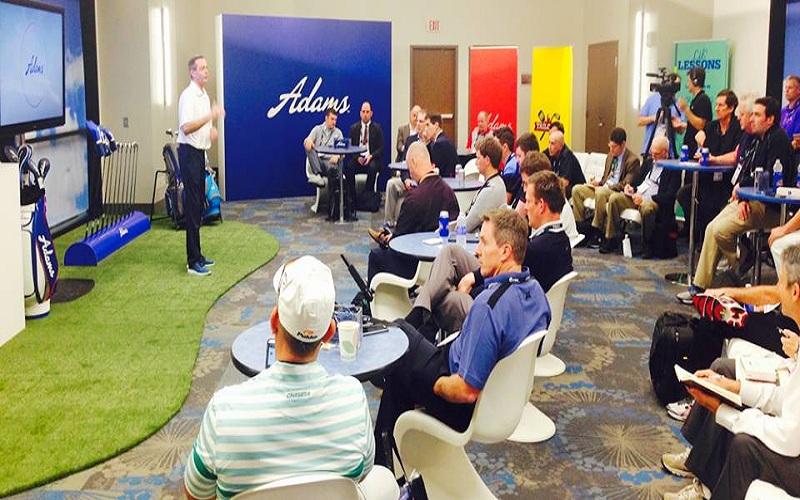 Conférence de presse Adams Golf @AdamsGolf