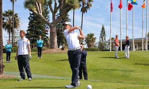 Adrien Saddier tout en haut du leaderboard du Qatar Masters