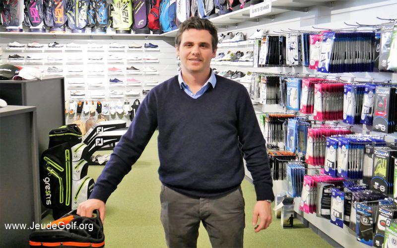 Alexis Schmidlin : Les magasins Golf Plus misent sur toujours plus de proximité avec les golfeurs