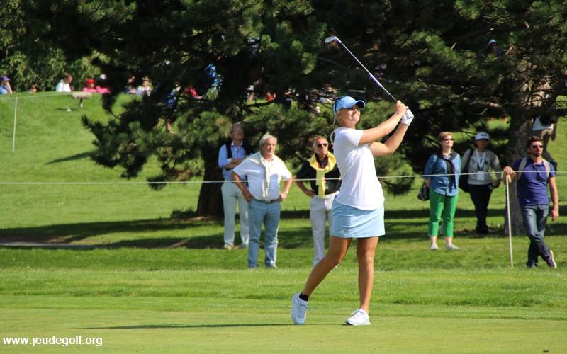 La première européenne dans la hiérarchie est la suédoise Anna Nordqvist, classée 13eme, joueuse sur le LPGA tour.