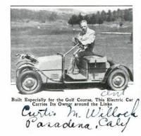 La première voiturette de golf