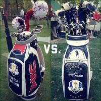 Sacs de golf de la Ryder Cup 2012