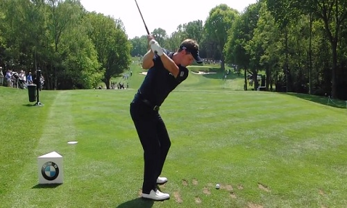 Le backswing de Luke Donald