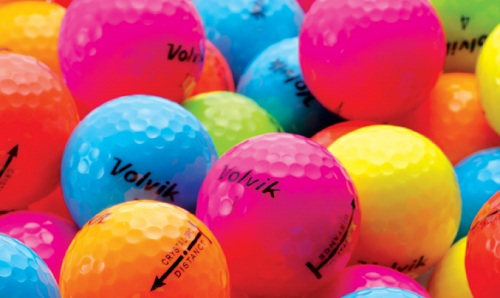 Mettez de la couleur dans votre jeu de golf