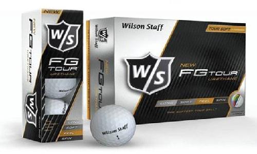 Nouvelles balles de golf Wilson FG Tour pour 2014