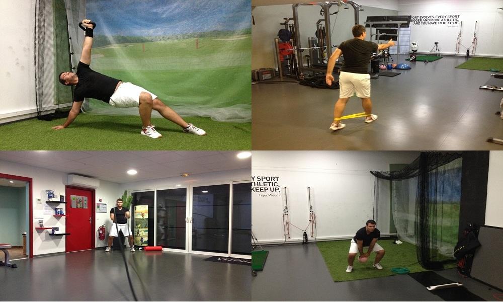 Projet Beathletik: Les séances de préparation athlétique pour le golf