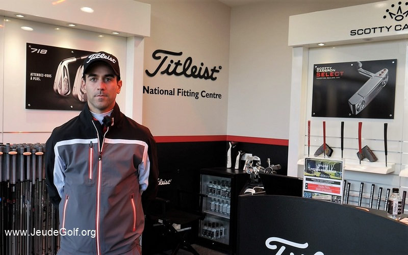 Benoit Delcambre vous présente le Titleist National Fitting Center, les wedges SM7 et les putters Scotty Cameron SELECT 2018