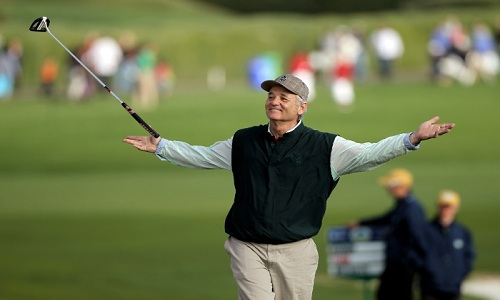 Bill Murray, le clown de Pebble Beach