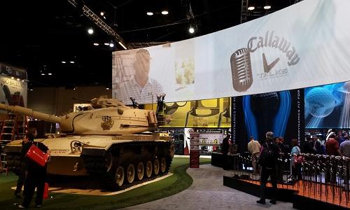 Callaway sort le tank !