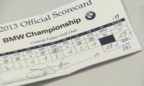 Jim Furyk intègre le club très fermé des golfeurs qui jouent 59
