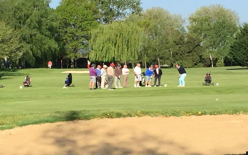 Ambiance club au golf du Clou