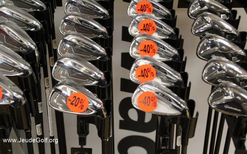 Vers la fin des remises sur l'achat des clubs de golf ?