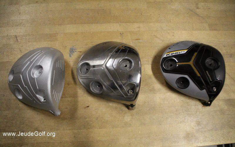 les étapes de conception d'une tête de driver Cobra
