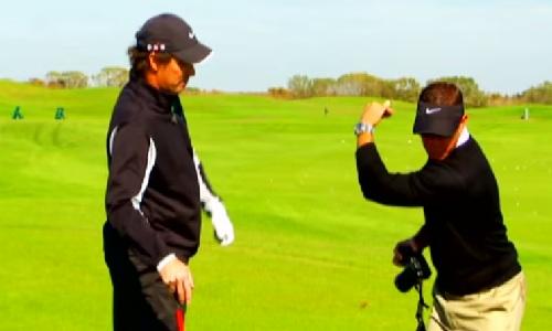 Revoir le principe de la leçon de golf